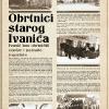 Obrtnici starog Ivanića